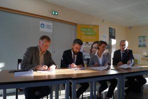 Signature du Contrat de Transition Écologique