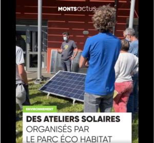Ateliers solaires dans les Monts du Lyonnais